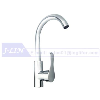 INW-9103 Classic Kitchen Faucet Single Handle - Easy Use & Hot Cold Water & Excellent Craftsmanship - Sink Taps