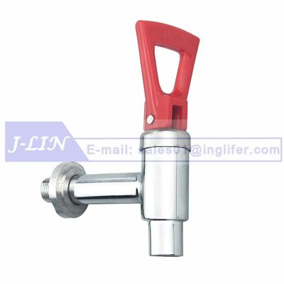 DN10 Faucet with Red Handle of Water Dispenser - Single Handle Easy Use Taps INW-6125